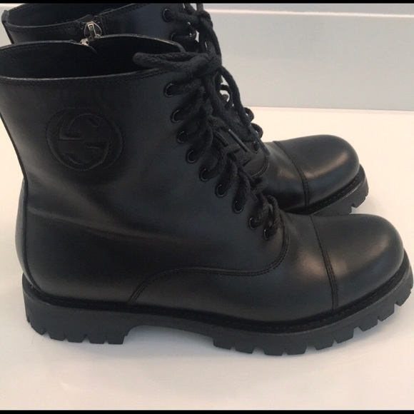 cc09f167424 GUCCI BOOTS like New Authentic combat boots